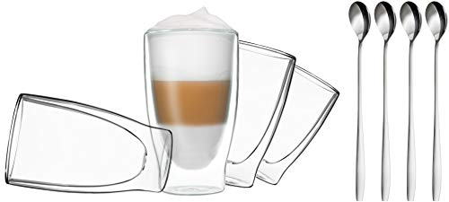 Thermogläser für Latte Macchiato