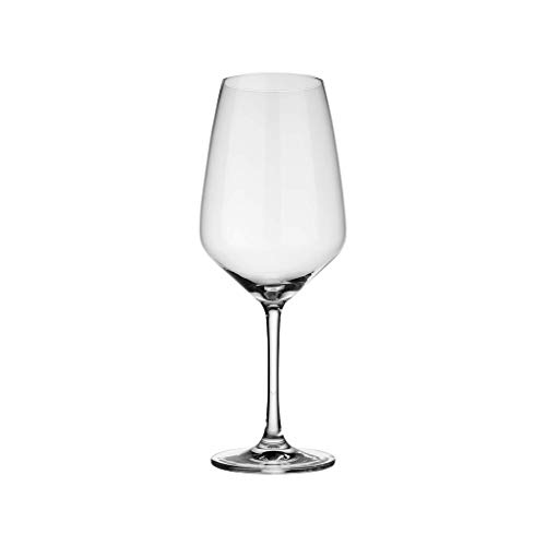 vivo by Villeroy und Boch Group - Voice Basic Rotweinglas-Set, 4-tlg., 497 ml, Kristallglas, klar,...