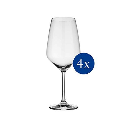 vivo by Villeroy & Boch Group - Voice Basic Rotweingläser, dezent gestaltete Gläser für Rotwein,...