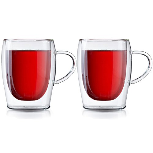 Doppelwandige Teegläser
