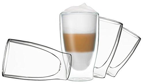 Doppelwandige Gläser für Latte Macchiato