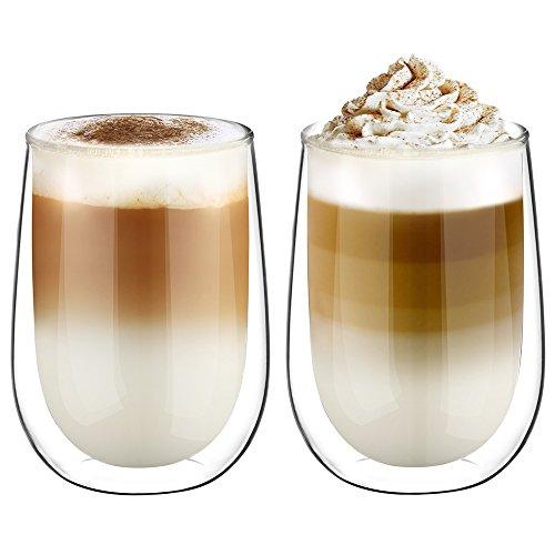 Doppelwandige Latte Macchiato Gläser
