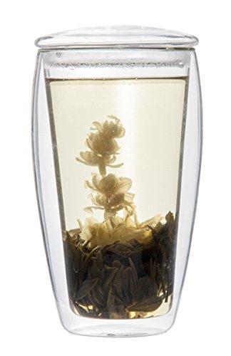 Doppelwandiges Teeglas / Teeset
