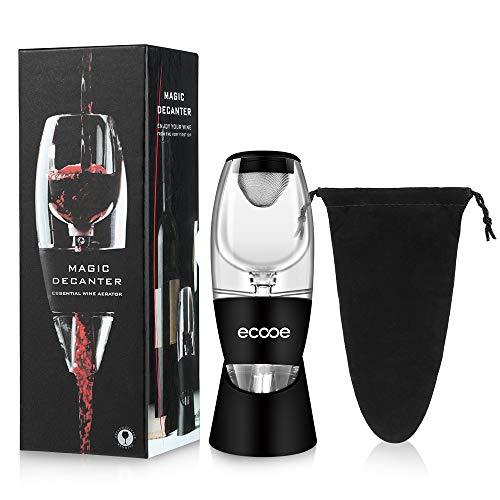 ecooe Wein Dekanter Dekantierer Rotwein Aerator Set Schnellest Ernüchternd Wein Belüfter mit...