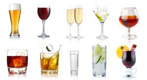 Welches Getränk gehört in welches Glas?