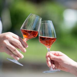 Das richtige Glas für Rosewein verwenden