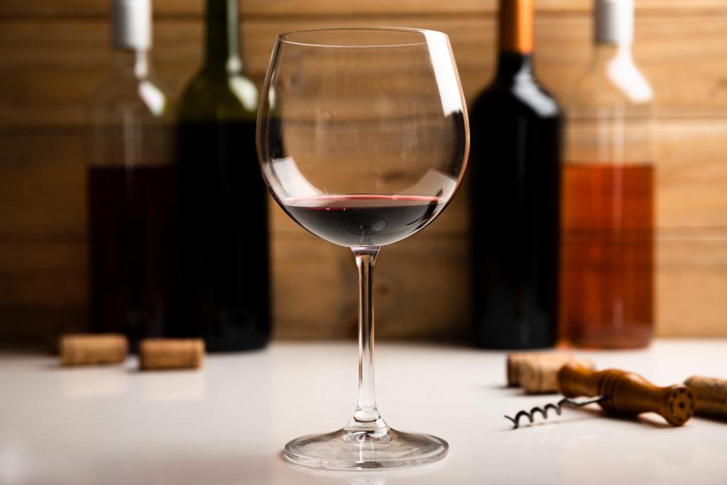 So findest du das passende Glas für Rotwein